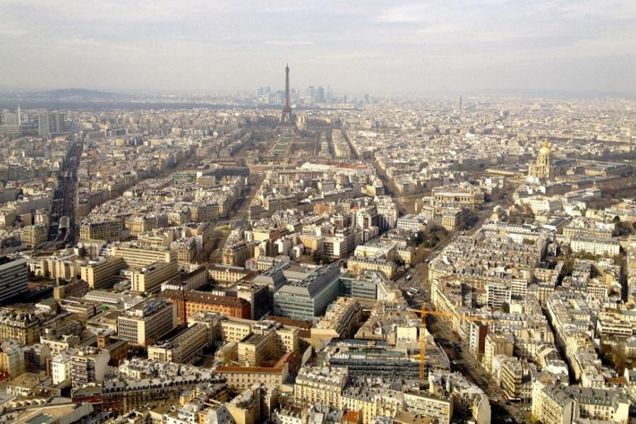 Almo o panor mico paris na torre montparnasse restaurante le ciel de paris - Ciel de paris montparnasse ...