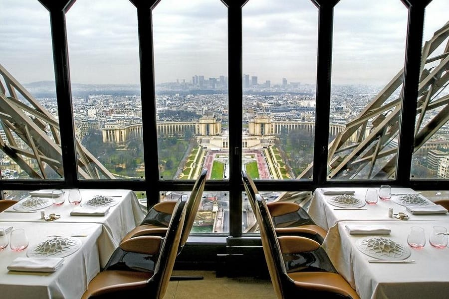 Paris Jantar Na Torre Eiffel Restaurante 58 Tour Eiffel